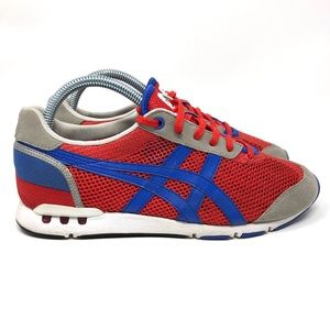 Onitsuka Tiger Japan Metro Nomad Blue/ Red Men 6.5